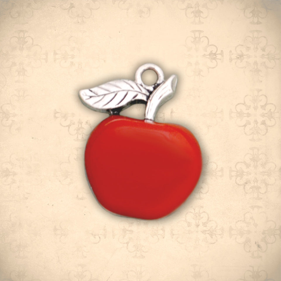 Occupations- Epoxy Apple Charm