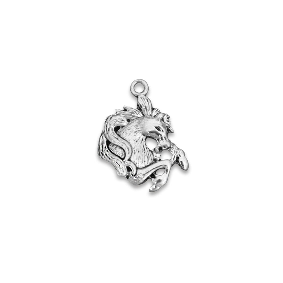 Stallion Horse Head Western Accent Charm