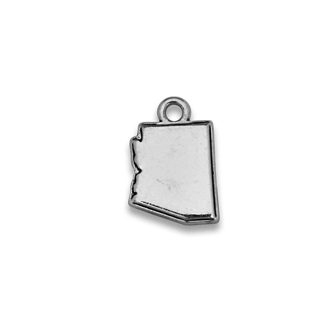 Accent States Arizona Map Charm
