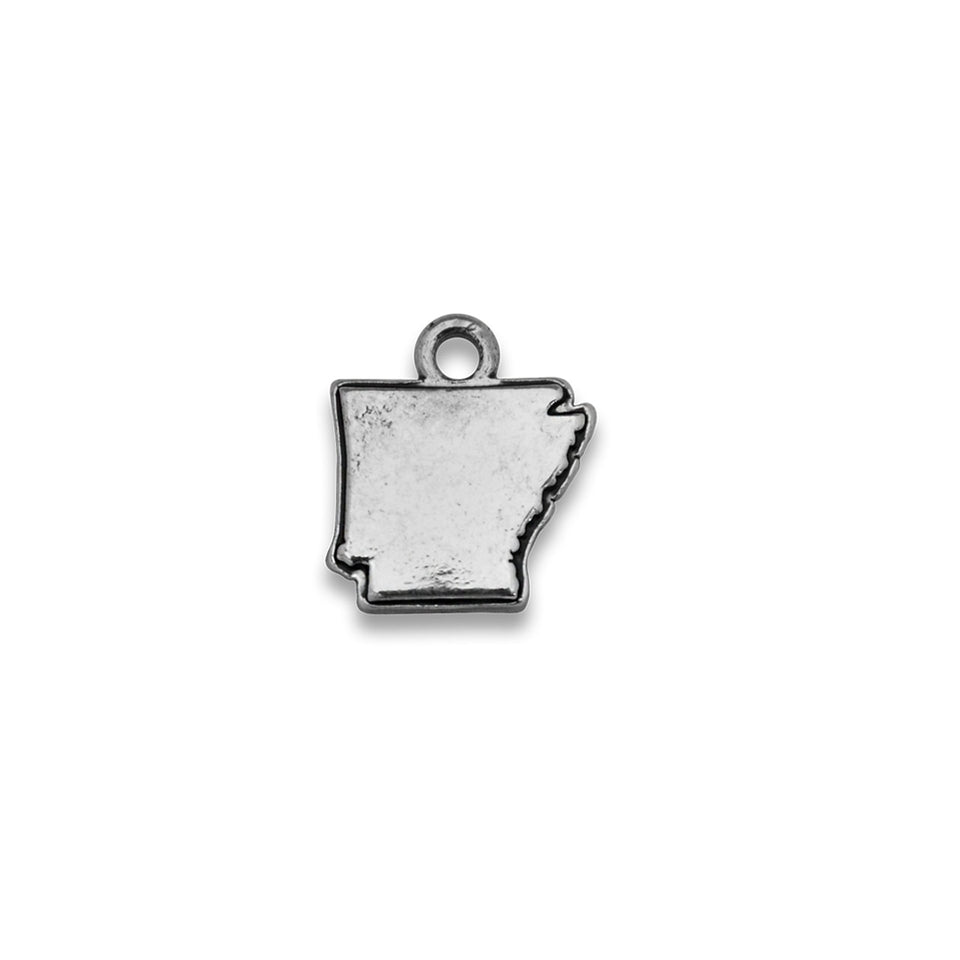 Accent States Arkansas Map Charm