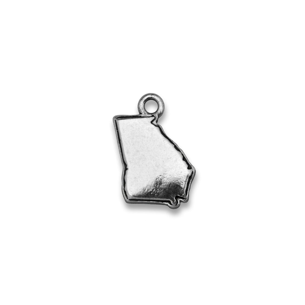 Accent States Georgia Map Charm