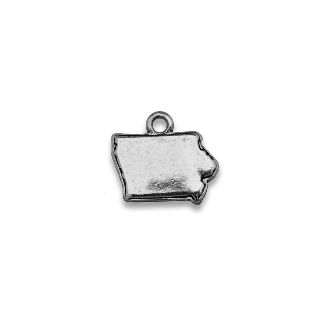 Accent States Iowa Map Charm