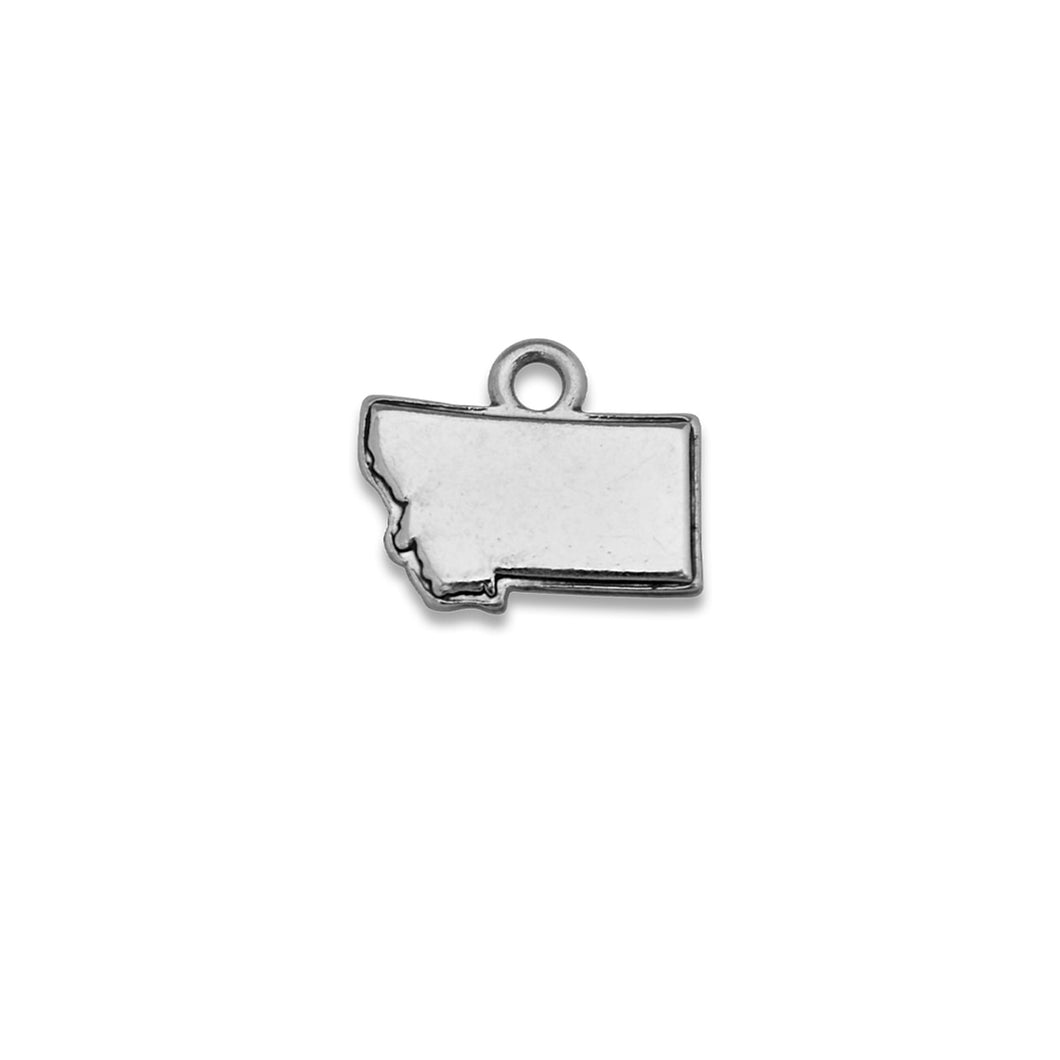 Accent States Montana Map Charm