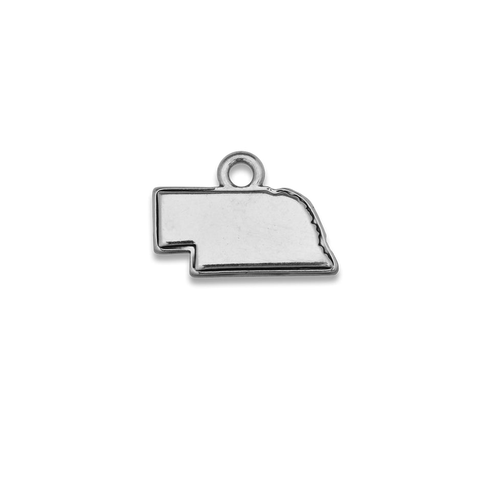 Accent States Nebraska Map Charm