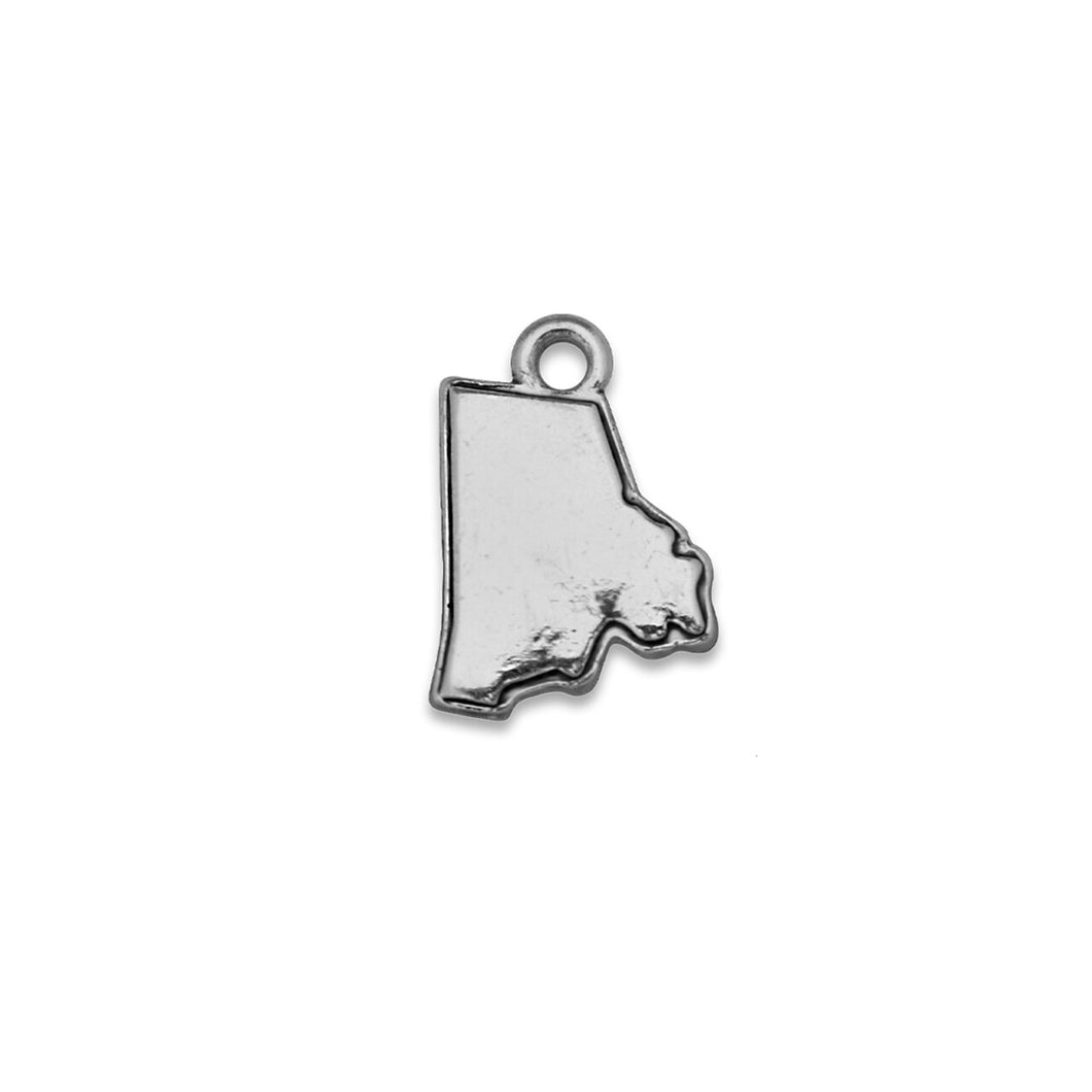 Accent States Rhode Island Map Charm