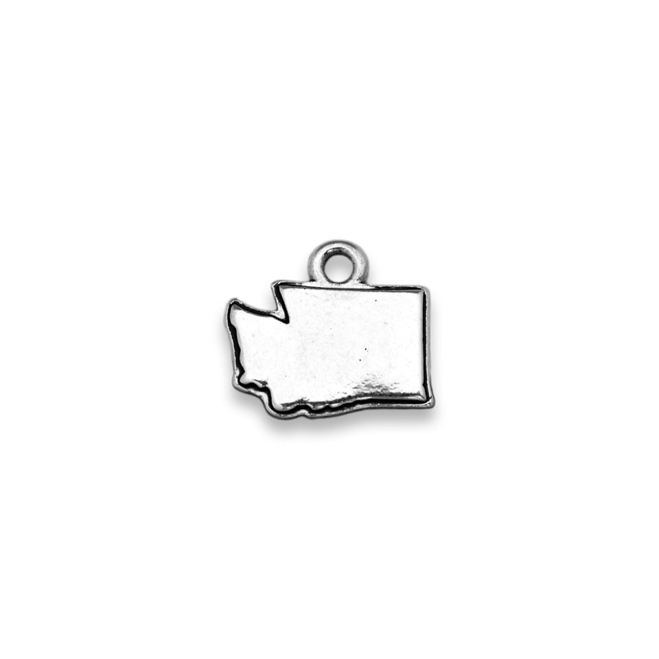 Accent States Washington Map Charm