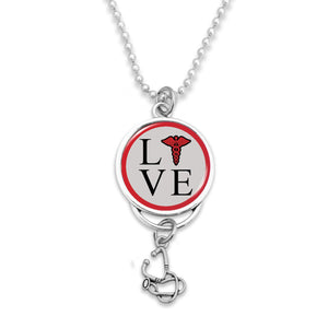 Nurse Love Rear View Mirror Charm
