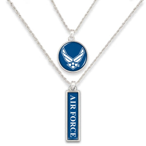 U.S. Air Force Double Down Necklace