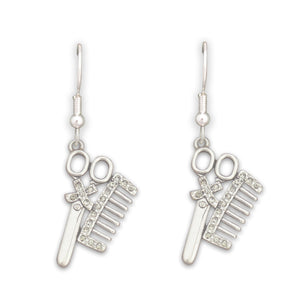 Crystal Hairdresser Earrings