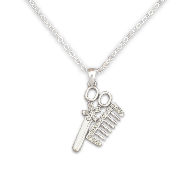 Crystal Hairdresser Necklace