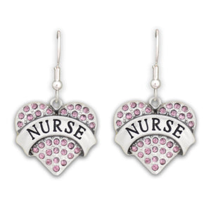 Nurse Heart Earrings