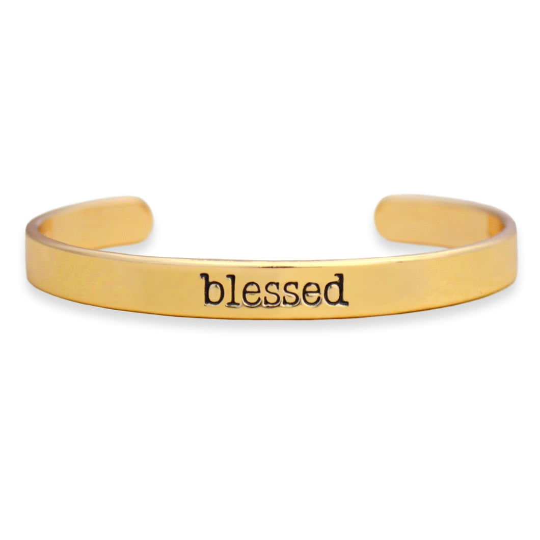 Blessed Off the Cuff Collection Bangle Bracelet