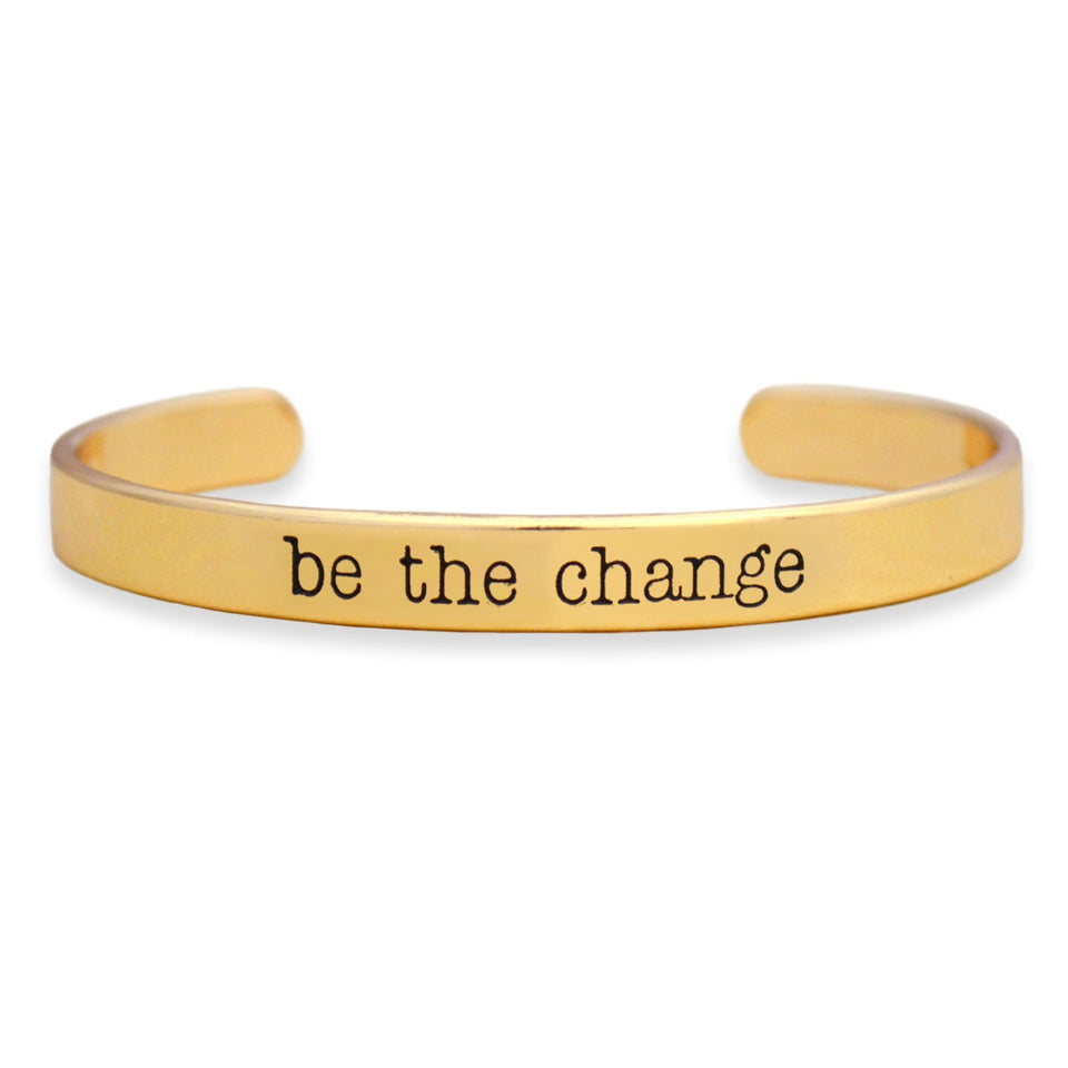 Be The Change Off the Cuff Collection Bangle Bracelet