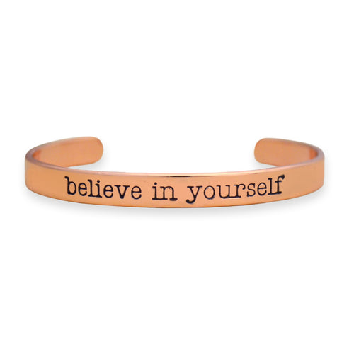 Believe In Yourself Off the Cuff Collection Bangle Bracelet