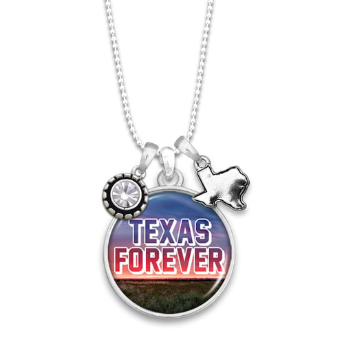 Texas State Pride ''Forever'' Necklace