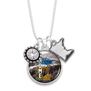 Minnesota State Pride ''Home'' Necklace
