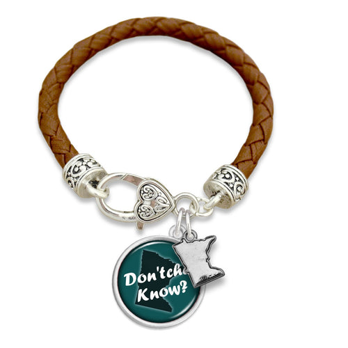 Texas State Pride ''Leather Forever'' Bracelet