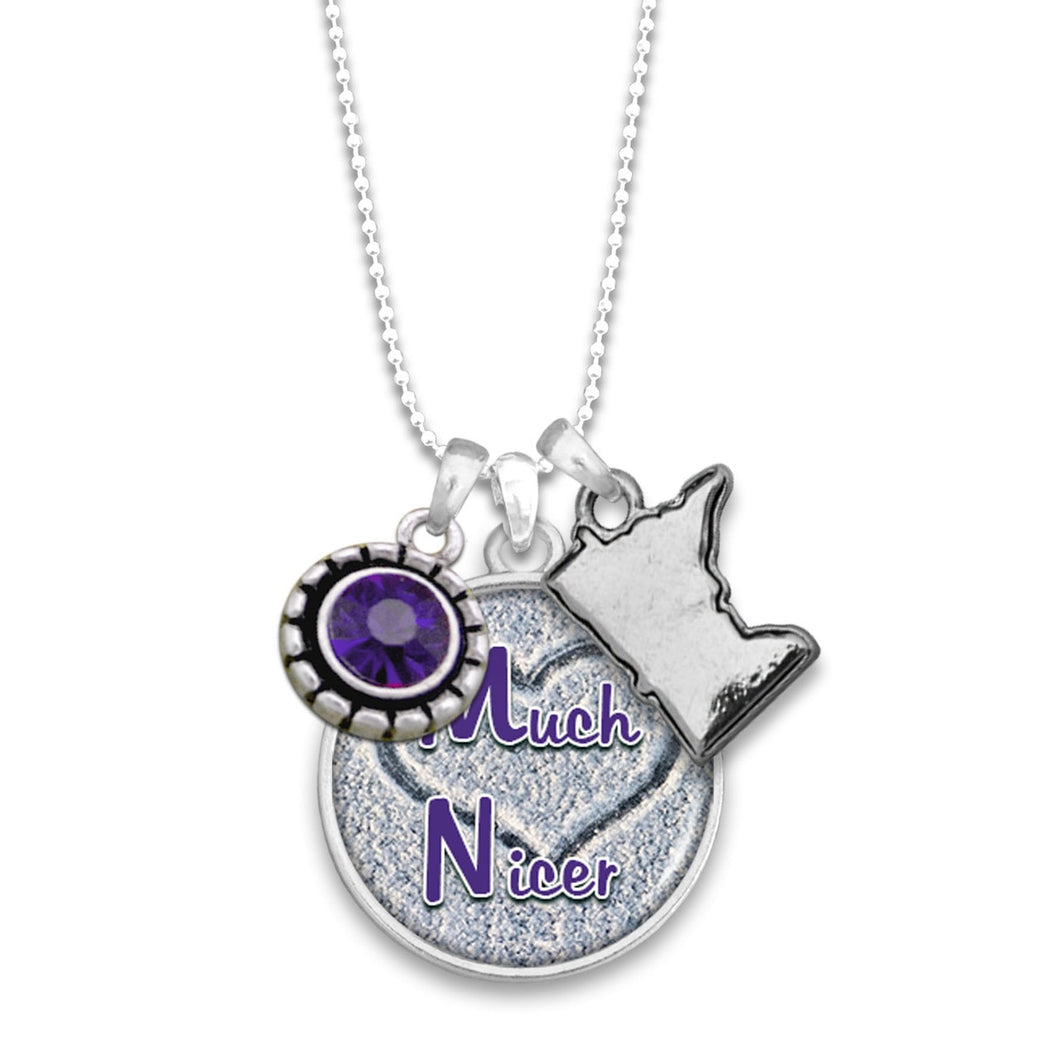 Minnesota State Pride ''Much Nicer'' Necklace