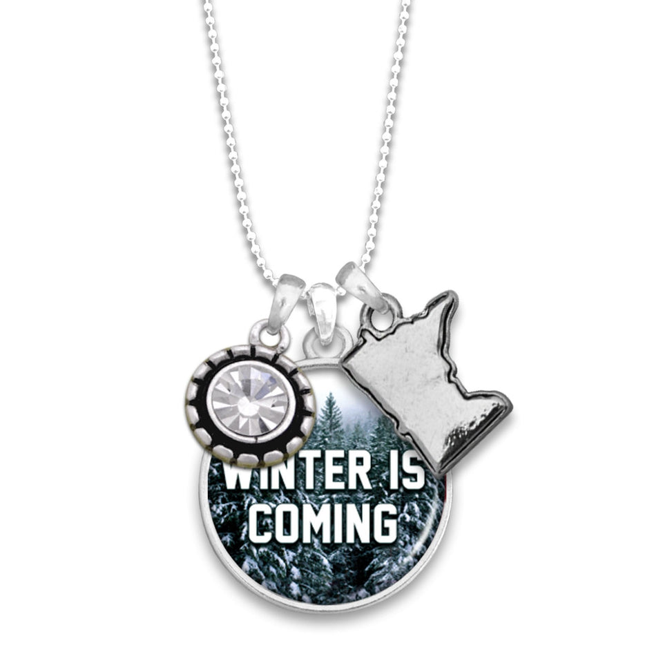 Minnesota State Pride ''Winter Is Coming'' Necklace