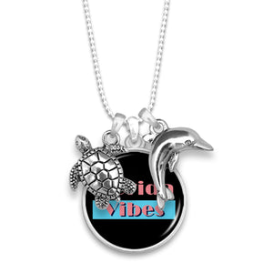 Florida State Pride ''Vibes'' Necklace