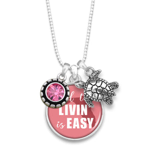 Florida State Pride ''And The Livin' Is Easy'' Necklace