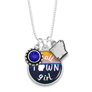 Arkansas State Pride ''Small Town Girl'' Necklace