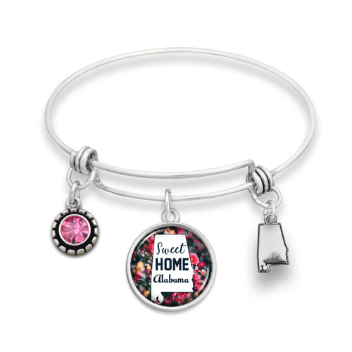 Alabama State Pride ''Wire Bangle Sweet Home'' Bracelet