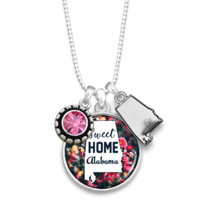 Alabama State Pride ''Sweet Home'' Necklace