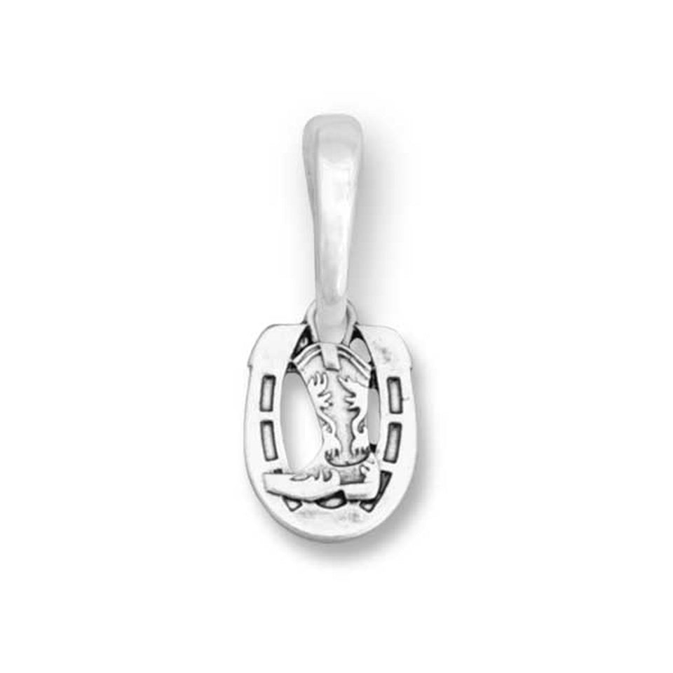 Charming Choices Charm Horse Shoe W/ Boots for Bracelets & Necklaces