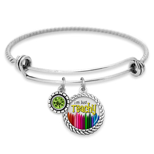 Teach.Love.Inspire Collection- Just Teachy Bracelet