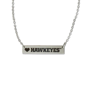Iowa Hawkeyes Bar Necklace