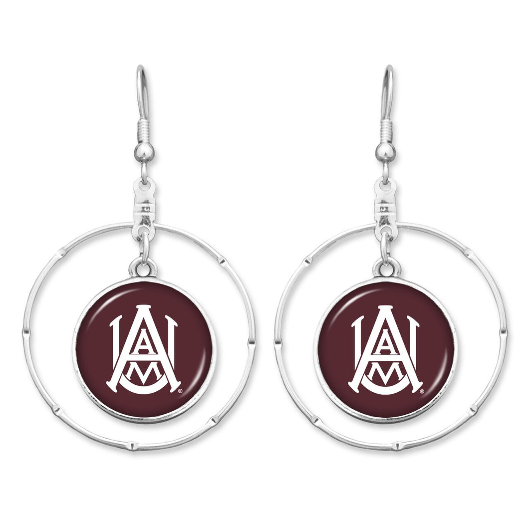 Alabama A&M Bulldogs Campus Chic Earrings