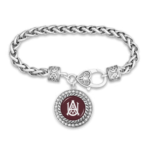 Alabama A&M Bulldogs Bracelet- Allie