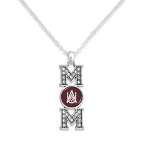 Alabama A&M Bulldogs MOM Necklace