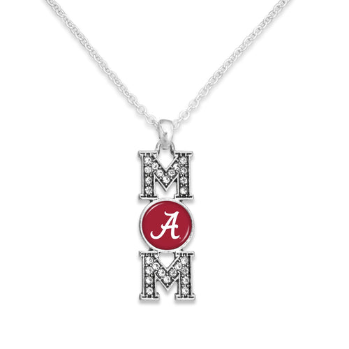 Alabama Crimson Tide MOM Necklace