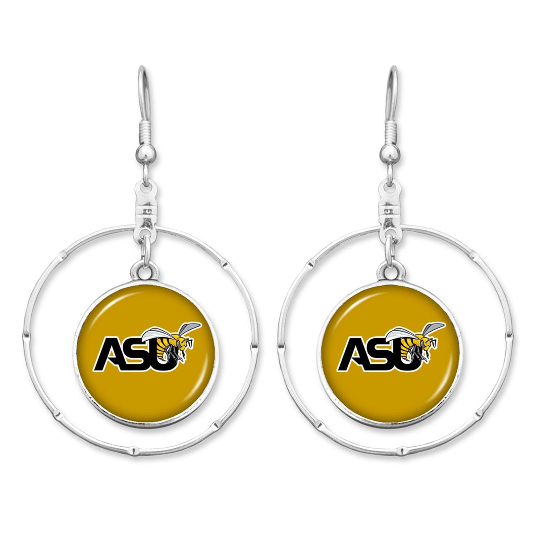 Alabama State Hornets Campus Chic Earrings