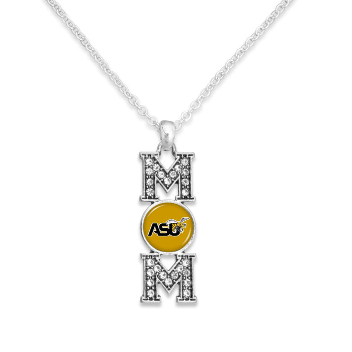 Alabama State Hornets MOM Necklace