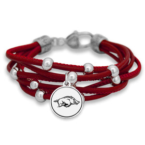 Arkansas Razorbacks Lindy Bracelet