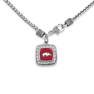 Arkansas Razorbacks Kassi Necklace