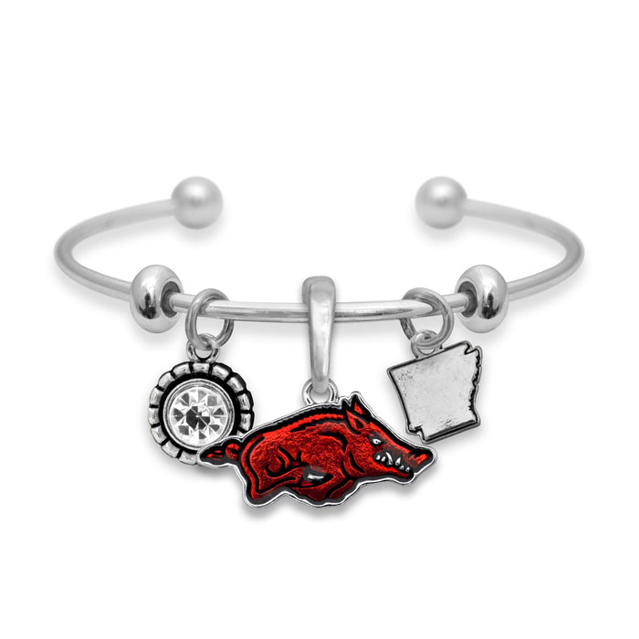 Arkansas Razorbacks Home Sweet School Bracelet