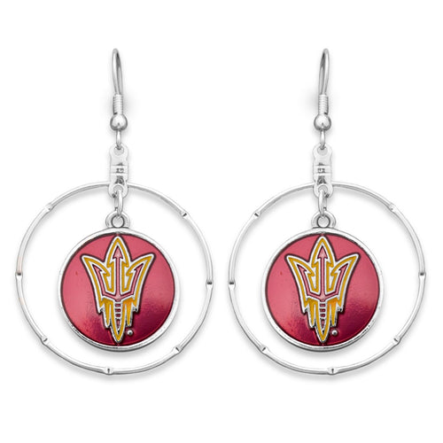 Arizona State Sun Devils Campus Chic Earrings