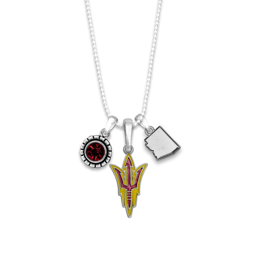 Arizona State Sun Devils Home Sweet School Necklace