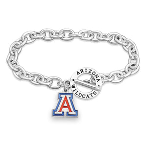 Arizona Wildcats Bracelet Audrey Toggle
