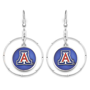 Arizona Wildcats Campus Chic Earrings