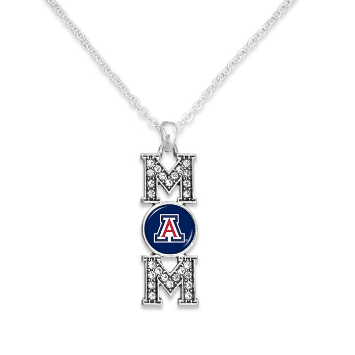 Arizona Wildcats MOM Necklace