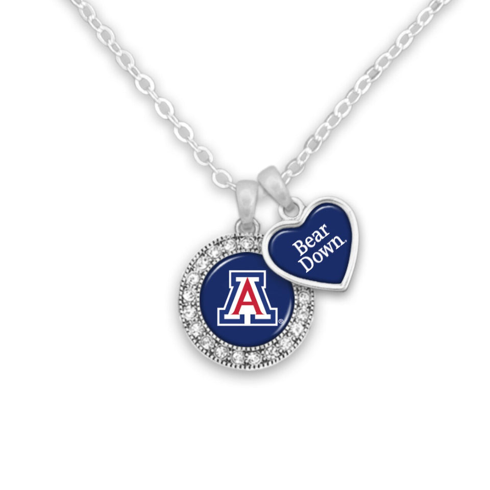 Arizona Wildcats Spirit Slogan Necklace