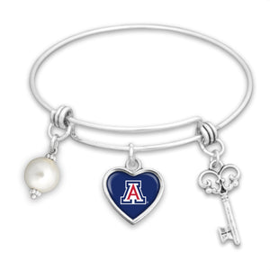 Arizona Wildcats Pearl Bracelet