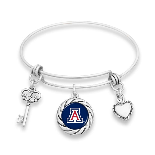 Arizona Wildcats Twisted Rope Bracelet