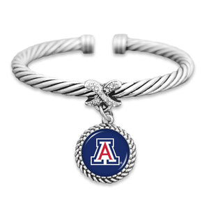 Arizona Wildcats Bangle Cuff Bracelet