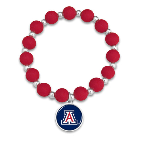 Arizona Wildcats Leah Bracelet